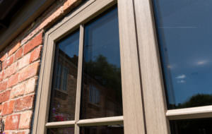 Wood Effect uPVC Casement Windows