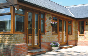 Golden Oak Windows & French Doors