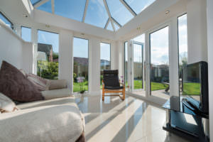 Open Plan LivinRoom Conservatory