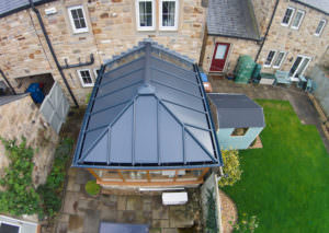 Solid Conservatory Roof collier row