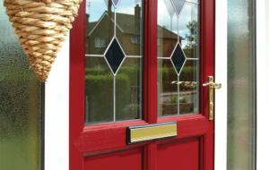 Red Composite Door romford