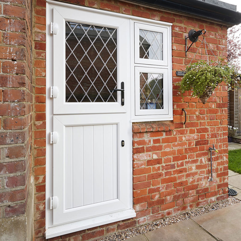 Upvc doors romford front doors double glazed doors for Exterior back door with window