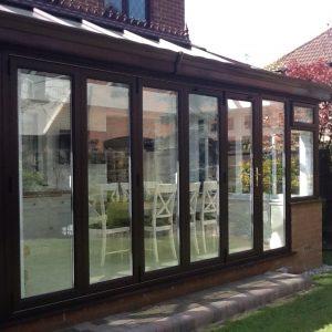 Conservatory Bi-Fold Doors