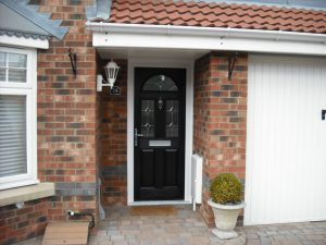Black Composite Doors Brentwood