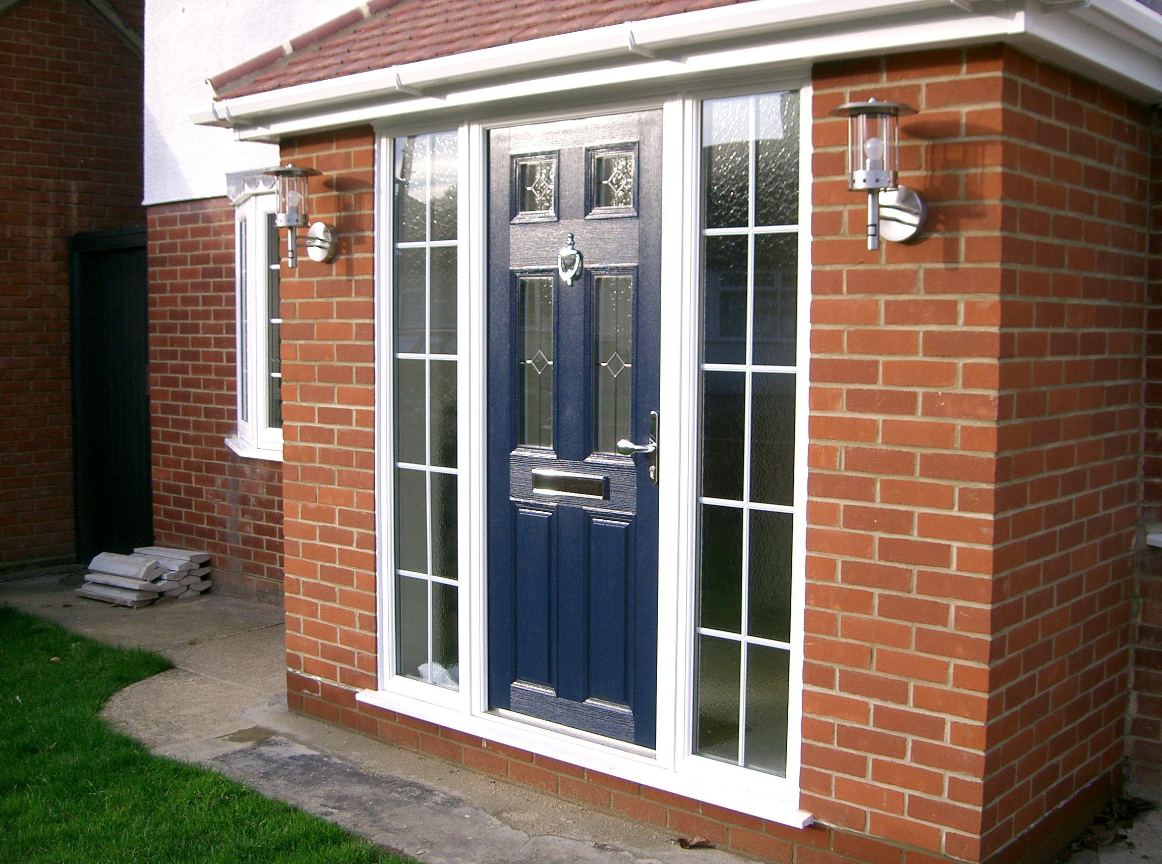 Blue Front Door Chigwell